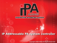 ПО для  IP устройств IPA AUDIO IPN-20PAS